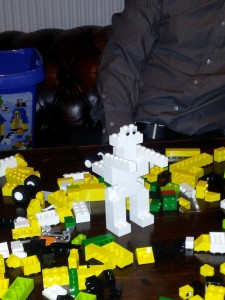 Team B Lego Animal After Iteration 1