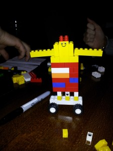 Team A Lego Animal After Iteration 3