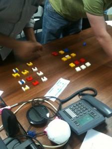 Lean Lego game - freestyling ideas